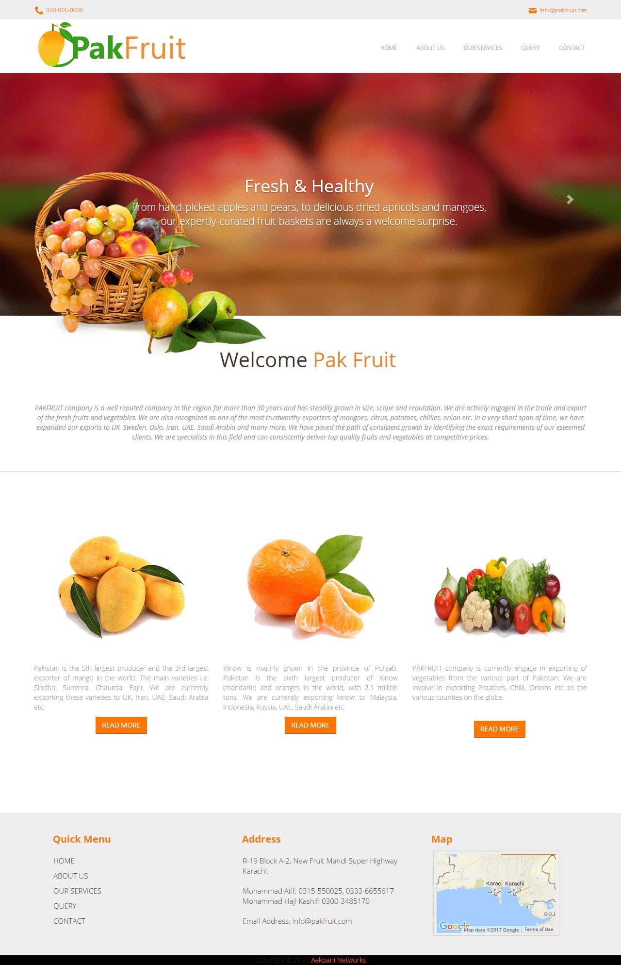 Pakfruit PorPak Fruit Portfoliotfolio